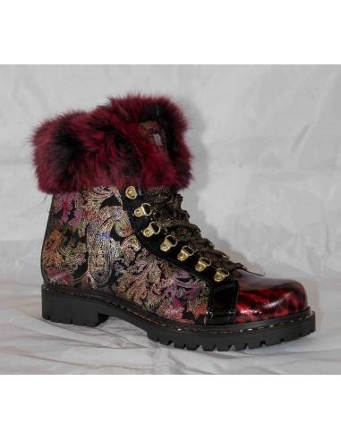 Boty New Italia Shoes SCARPONCINO ZIP...